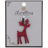 Red Reindeer Pendant