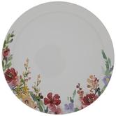 Dolly Parton Floral Trim Plate