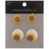Sunflower Pendants