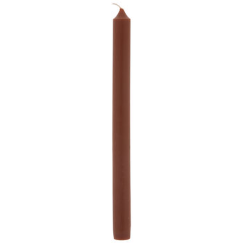 Rust Taper Candles