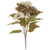 Beige & Tan Teddy Bear Sunflower Bush