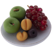 Miniature Fruits With Dish