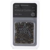 Hexagon Metal Beads