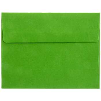 Bright Green Envelopes - A2