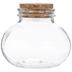 Corked Glass Jar
