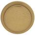 Gold Button Metal Knob