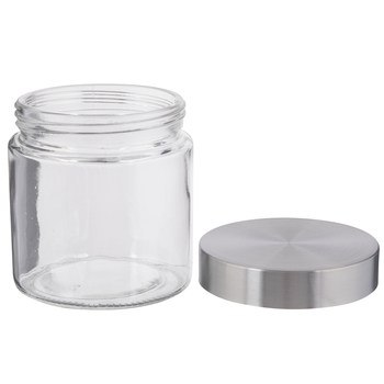 Stainless Glass Mason Jar