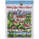 Wish You Were Here Coloring Book