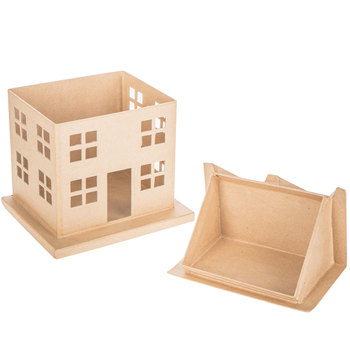 Paper Mache House Box Set