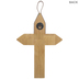 Faith Engraved Wood Wall Cross