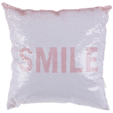 Smile & Dream Flip Sequin Pillow