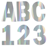 Holographic Foil Alphabet Stickers