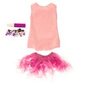 Pink Doll Tutu Deco Kit