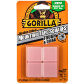 Gorilla Double-Sided Mounting Tape Squares