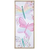 Watercolor Butterflies Canvas Wall Decor