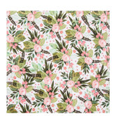 "Floral Clusters & Leaves Scrapbook Paper - 12"" x 12"""