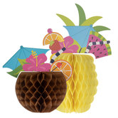 Tropical Drink Centerpieces