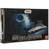 Death Star II & Star Destroyer Model Kit