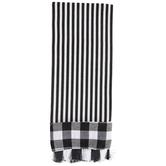 Black & White Striped Kitchen Towel