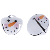 Snowman Face Jingle Bells