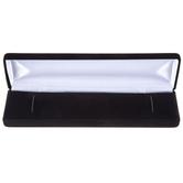 """8"""" x 2"""" Black Velvet Bracelet Box"""
