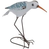 Squatting Metal Sea Bird