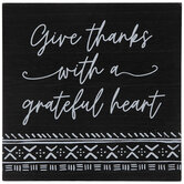 Give Thanks With A Grateful Heart Wood Decor