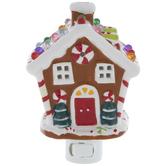 Gingerbread House Night Light