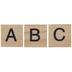Alphabet Wood Tiles
