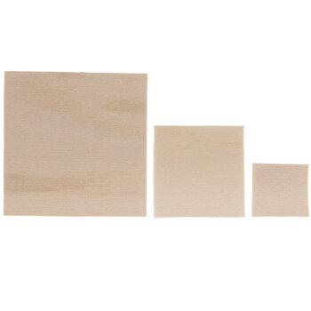 Square Wood Shapes