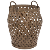 Flared Bamboo Basket