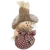 Plaid Scarecrow