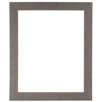 """Gray Barnwood Open Frame - 16"""" x 20"""""""