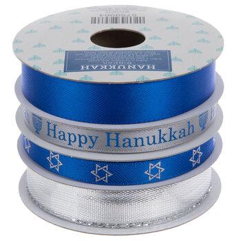 Happy Hanukkah Ribbon