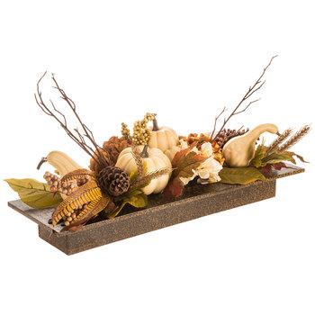 Gourd, Berry & Hydrangea Centerpiece