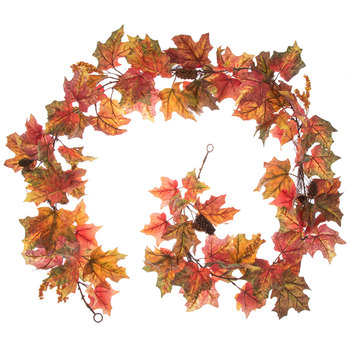 Maple Leaf, Pinecone & Berry Garland