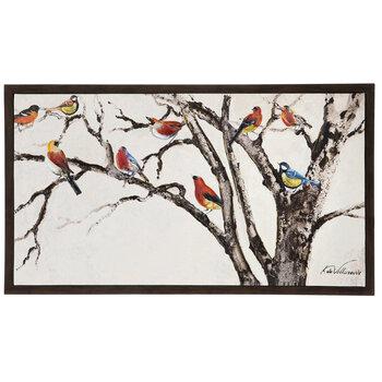 Bird Branches Canvas Wall Decor