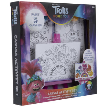 Trolls World Tour Canvas Activity Kit