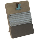 """Wood Plank Clip Frame - 2"""" x 3"""""""