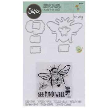 Bee Kind Floral Dies & Stamps