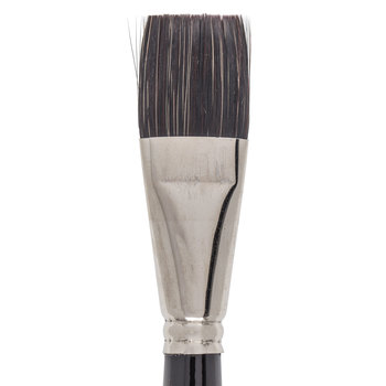 Synthetic Squirrel Flat Paint Brush