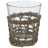 Seagrass Wicker Glass