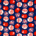 MLB Philadelphia Phillies Fleece Fabric