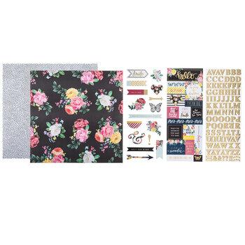"""Petals & Blooms Scrapbook Kit - 12"""" x 12"""""""