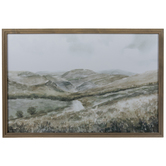 Tuscan Hillside Framed Wall Decor