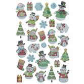 Snowmen & Polar Bears Stickers