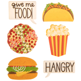 Food 3D Stickers