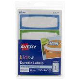 Kids Durable Labels