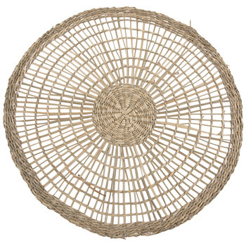 Woven Seagrass Round Placemat