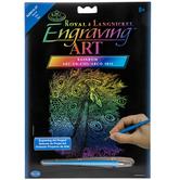 Peacock Rainbow Engraving Art Kit